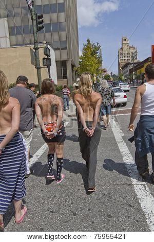 Women Go Topless