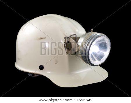 Vintage Caving Helmet