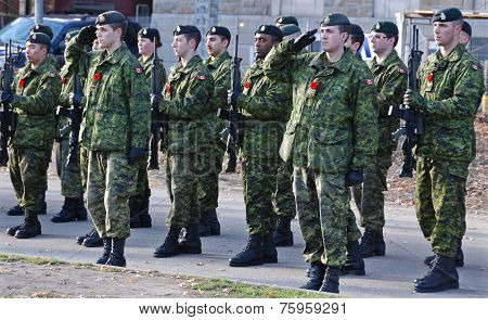 Canadians soldiers
