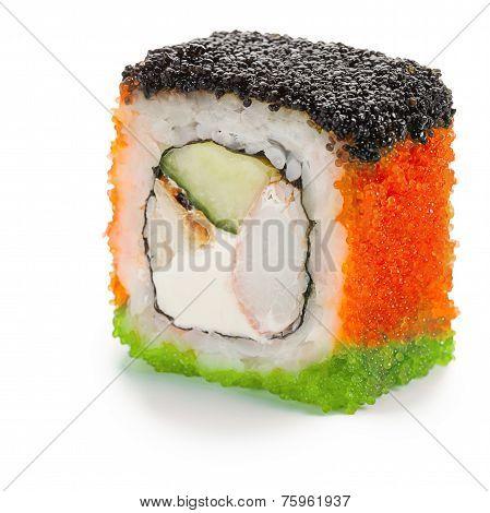 Japanese Uramaki Roll
