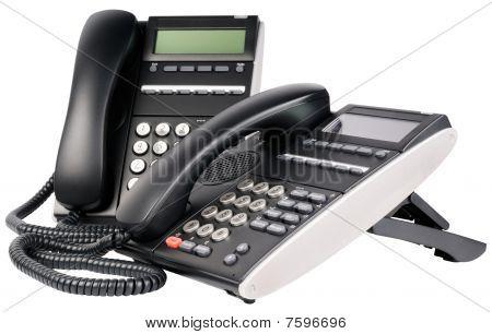 Two Digital Telephones