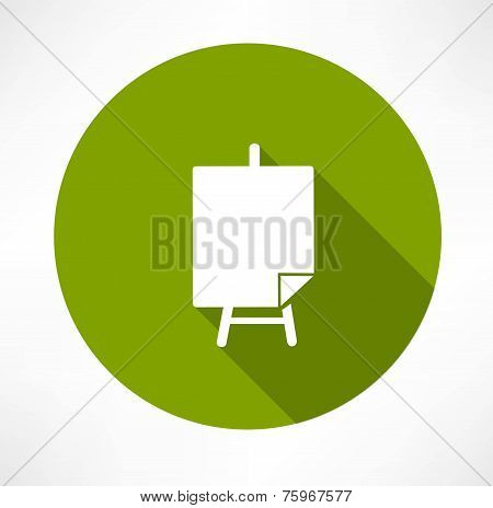 Poster stands icon