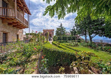 Meteora Agio Stefano Monastery In Greece