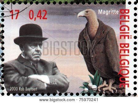 Magritte Stamp