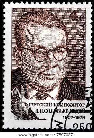 Solovyov-sedoi Stamp