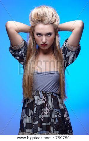Beautiful European Model