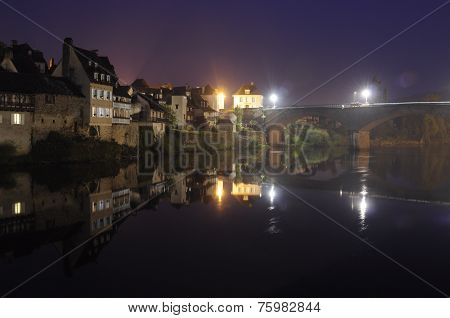 Argentat-dordogne-night