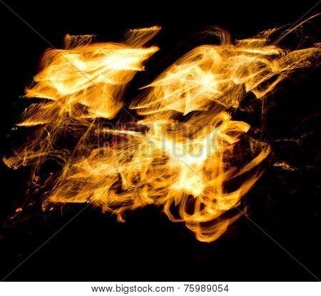 Gasoline Dance Fire Show