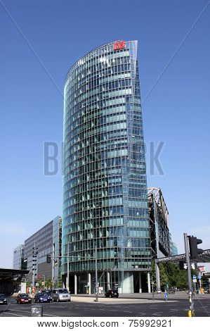 Skyscraper of DB office building