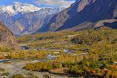 picture of karakoram  - Autumn at Ghizer Valley - JPG