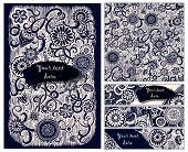 stock photo of batik  - Paisley batik background - JPG