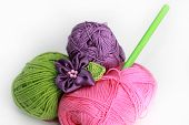 pic of brooch  - knitting accessories  - JPG