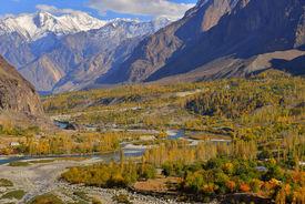 image of karakoram  - Autumn at Ghizer Valley - JPG