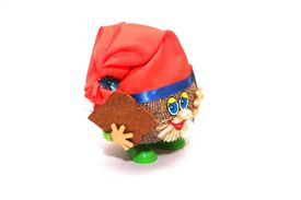 stock photo of  midget elves  - photo of the gnome on white background - JPG