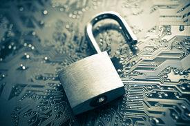 picture of leak  - unlock security lock on computer circuit board  - JPG
