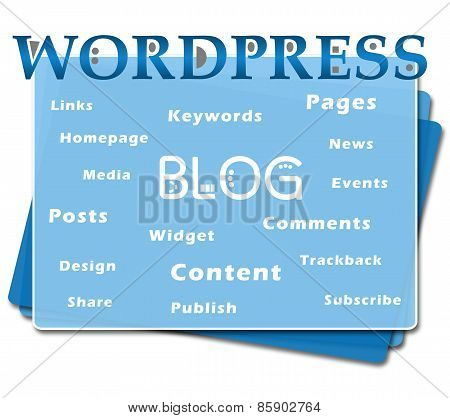 Wordpress Blog Bottom Squares