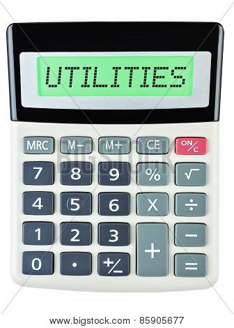 Calculator With Utilities