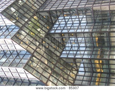 Skyscraper Glass Detail