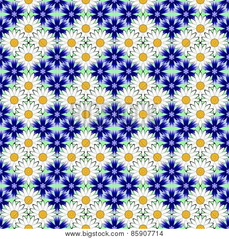 Design Seamless Flower Pattern