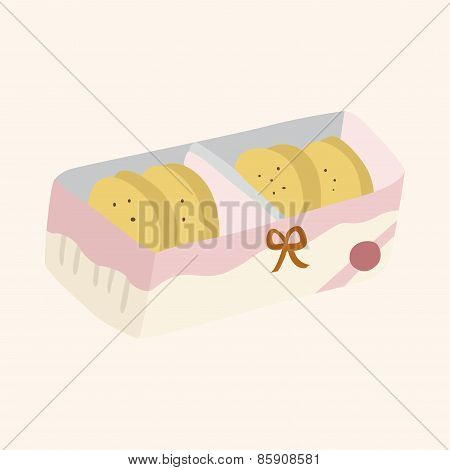 Cookies Theme Elements Vector,eps