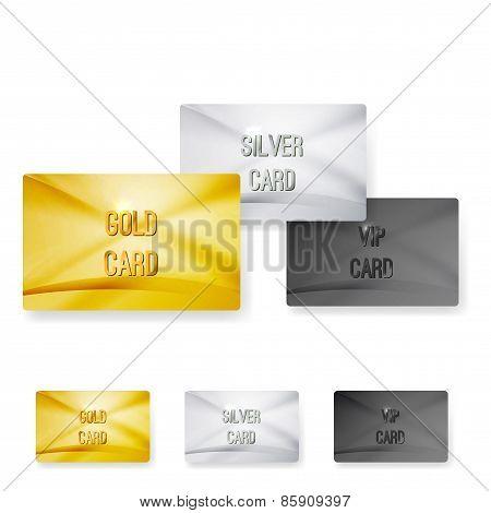 Premium Club Member Vip Status Card Templates
