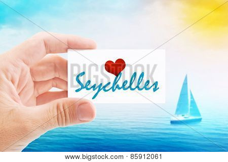 Summer Vacation On Seychelles Beach