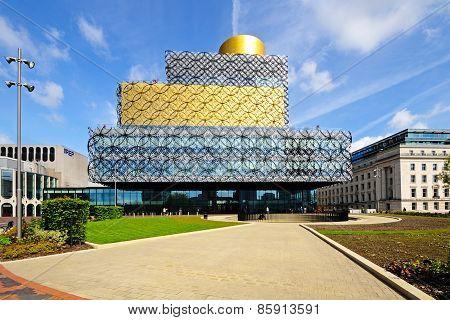 Birmingham Library.