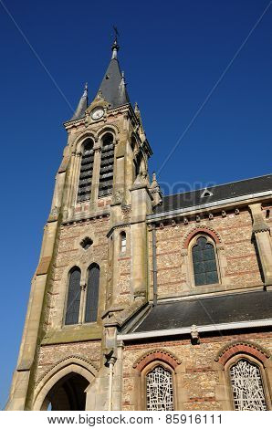 France, The Church Saint Lubin Of Rambouillet