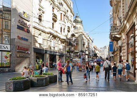 Knez Mihailova Street, Belgrade, Serbia