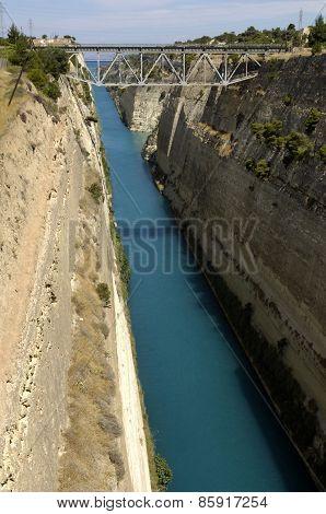 Greece, Corinth Canal