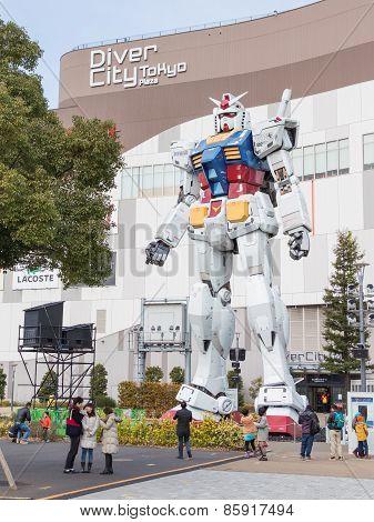 Huge Space Robot