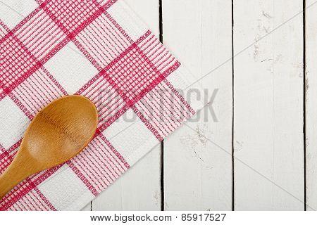 Napkin And Ladle