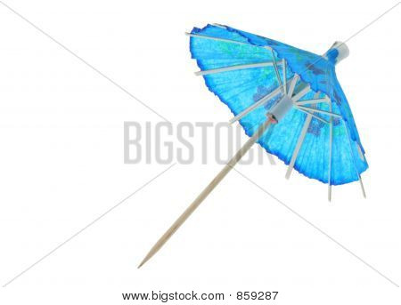 asian cocktail umbrella  pure white background 2