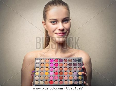 Colourful palette