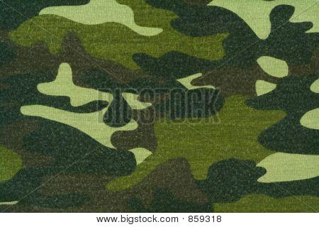 pano de camuflagem