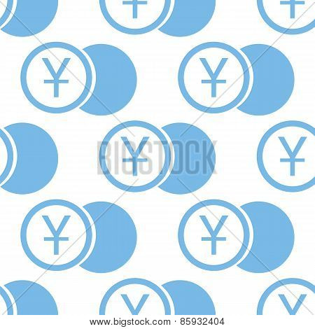 Yen coin seamless pattern