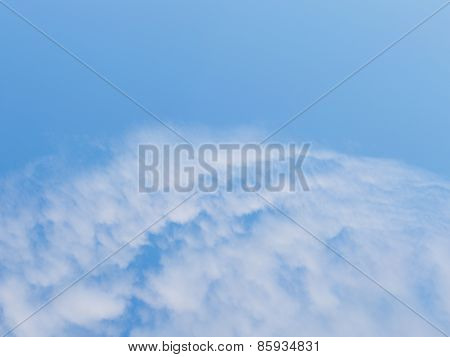 Group Of Cumulus Clouds