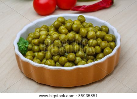 Green Canned Peas