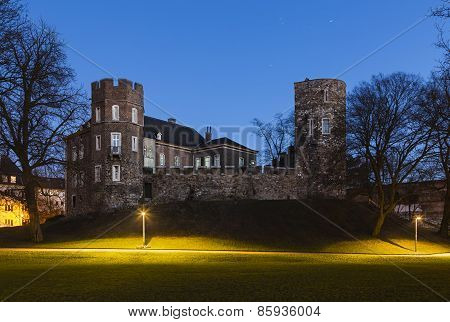 Frankenberg Castle At Night, Aachen