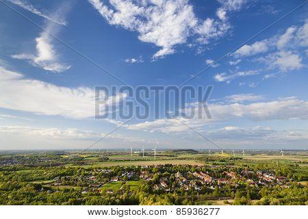West German Wind Energy Landscape