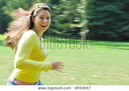 Enjoy It - Running Teenager