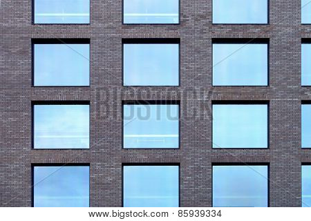 Bureau Building Facade.
