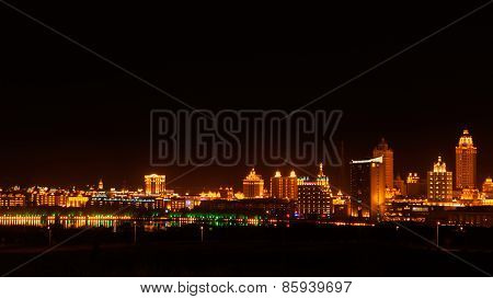 Chinese Manzhouli Night