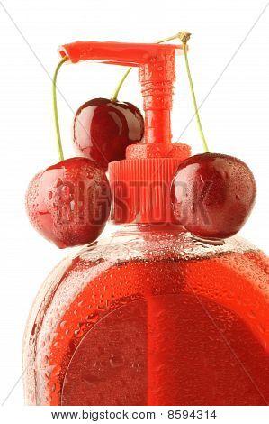Liquid Soap With Cherry