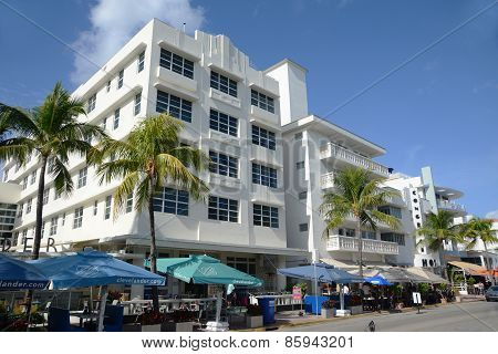 Art Deco Style Clevelander in Miami Beach