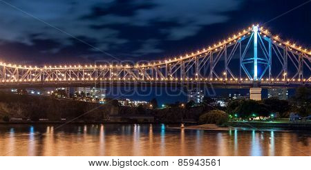 Brisbane, Story Bridge At Night
