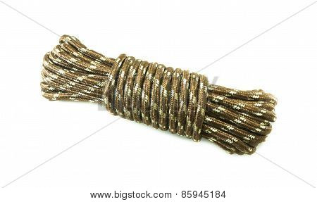 Bundle Cable Rope On White Background