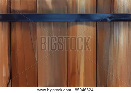 Wood planks, vector background