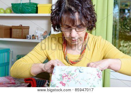 Portrait Of A Dressmaker In His Workshop