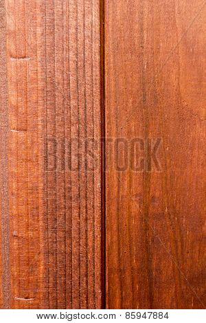 Wooden Background Stain Treated